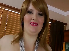Stunning big beautiful woman Red Hair