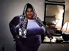 Big Black Woman With Massive Breasts