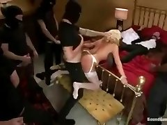 Wedding smash - Bride gets used in front of groom.
