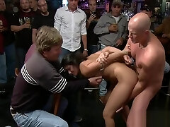 Provoking girl punished and fucked