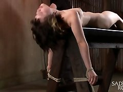 Yhivi in First-ever Shoot Ever-19 Yr Old Learning Bondage The Hard Way - SadisticRope