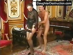 Nubile daughter fucked hard on boat