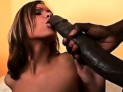 She got that immense black jizz-shotgun Fresh Jersey style! We've got