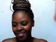 Private session with african sweety
