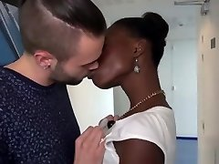 J&M - French lovely ebony fisrt time on camera