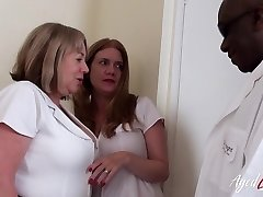 AgedLovE Two Insatiable Nurses and Black Weenie