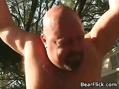 Big gay bears bone and suck dick in the part1