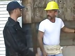 Hard blue collar cock scene 2