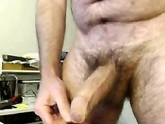 HAIRY Dad BIG THICK Uncut BEAUTIFUL COCK