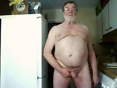 Morning Wank and Spunk on Webcam