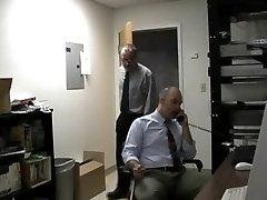 Gay employees sucking dick