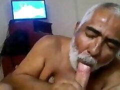Turkish Dad Sucking Son-in-law