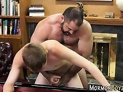 Mormon hunk fucking elder