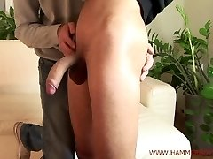Nasty heterosexual guy Honza Sykora gets handjob from Hammerboys TV