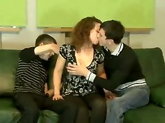 Amateur 30 year old with 2 boys