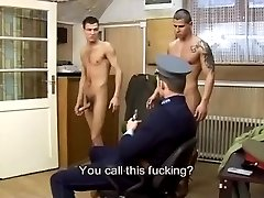 The hungarian police fucking hard
