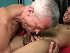 Exotic gay video with Hunk, Dad scenes