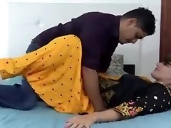 Indian hindi stepsister dry fuckfest with stepbrother (Hindi )