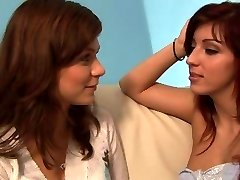 Ultra hot Czech lesbian hook-up