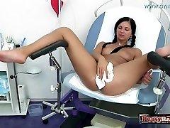 Sexy M�dchen oops internal cumshot