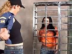 Highly Hot Lesbian Rope-On xxx performance
