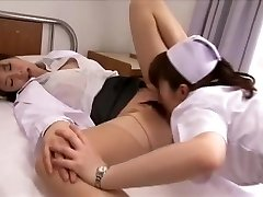 Greatest Japanese model Chika Arimura, Mimi Asuka, Nanako Mori in Hottest Fingering, Nurse JAV flick