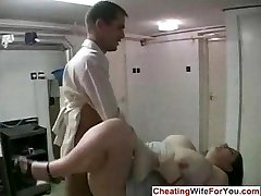 Yam-sized housewife cuckold fetish