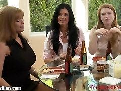 GirlfriendsFilms Trussed Lesbian MILF 3Some