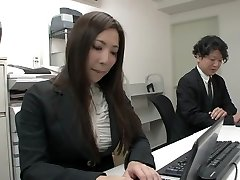 Exotic Japanese girl in Super-naughty Office, Mature JAV clip