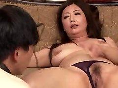Japanese Older Ayano Murasaki and Bondman (Uncensored)