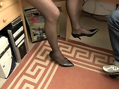 Gonzo OMAS - Dirty Germany granny takes dick at the office