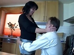 MMV FILMS Fledgling German Mom