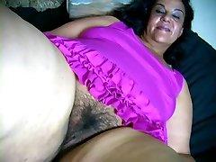 Hot face and hotter huge ass