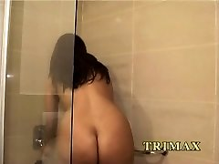Mature Indian Housewife In Bathroom Finger-banging Pussy