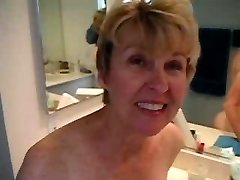Bathroom Blow and Fuck