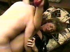 Coura manželka latexové šaty prdele s striekanie