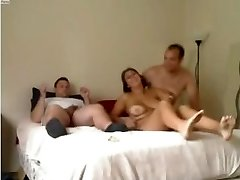 Amateur - Lovely Mature Homemade MMF 3some