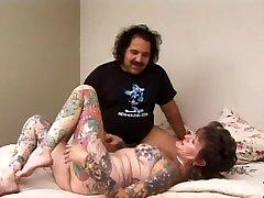 Ron Jeremy & Tattoo Sue