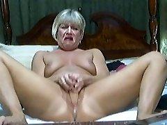 Hot Blond Mature on cam 2