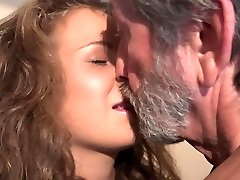 Barely Legal curly cutie teen and 76 old granppa nasty 69