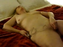 Unshaved mature screams my name while penetrated hard