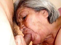 Horúce staré Babičky s úžasnými nahé telo