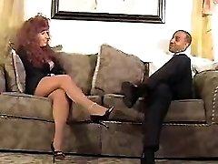 Redhead mommy gets nailed by black Waneta from 1fuckdatecom