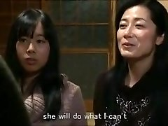 Jap mother daughter keeping house m80 slaves