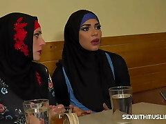 Muslim woman spread her legs for Passport's