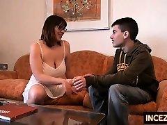 British brunette young amateur blowjob