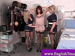 Humiliatrix getting tough on a sissy
