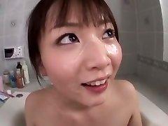 Incredible Japanese model Hana Nonoka in Best Blowjob, Showers JAV video