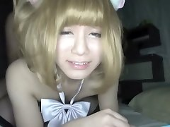 Crazy Japanese girl in Incredible Asian, Guy Smashes JAV scene