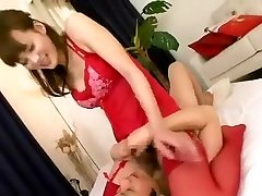 Incredible Japanese female in Horny Blowjob, Asian JAV clip